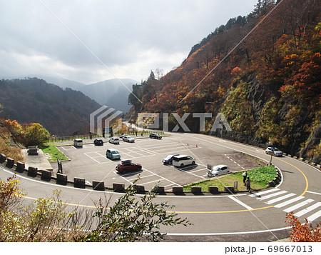秋の白山白川郷ホワイトロード 栂の木台駐車場 69667013