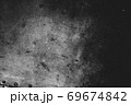 Photo of old scratched surface texture in black colors 69674842