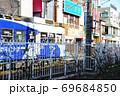 都電荒川線(東京さくらトラム)と終点である三ノ輪駅周辺の店舗など 69684850
