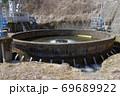 長野県南佐久郡佐久穂町にある 鷽ノ口円形分水。土木遺産として有名。水争いの解決に使用された。 69689922