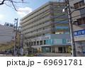 千束3丁目にある台東区立台東病院の建物 69691781