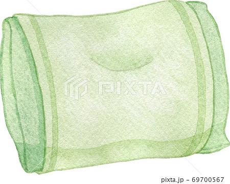 緑色の枕 69700567
