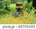 いすみ鉄道「森の緑の中を抜けて」 69705493
