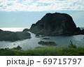青森県深浦町の象岩 69715797