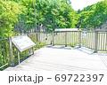 【都立公園】小山内裏公園 水辺の広場 大田切池【色鉛筆】 69722397