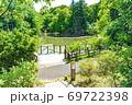 【都立公園】小山内裏公園 水辺の広場 大田切池【色鉛筆】 69722398
