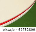 和柄背景 和風 和柄 日本的 和紙 フレーム 金屏風 古典的 市松模様  69732809