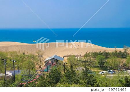 鳥取砂丘と観光リフト 69741465
