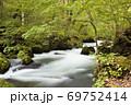 奥入瀬渓流 阿修羅の流れ 69752414