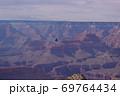 【アメリカ】壮大なグランドキャニオンのグラデーション 69764434
