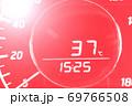 外気温 猛暑 自動車 69766508