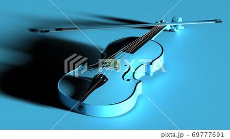 スカイブルーのバイオリン 69777691