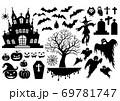 Halloween symbol element 69781747