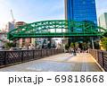 東京 秋葉原 松住町架道橋(総武線の鉄道橋) 昌平橋から 69818668