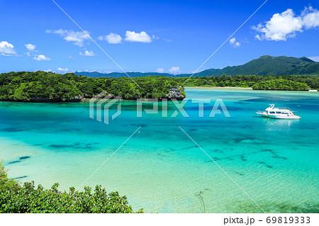 石垣島の絶景 川平湾 69819333