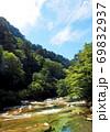 愛媛県久万高原町の面河渓 69832937