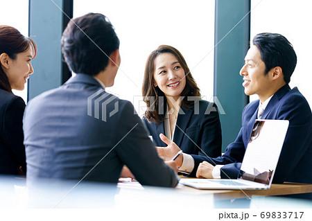 ビジネス、ミーティング 69833717