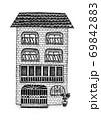 ヨーロッパ風のオシャレな家 69842883