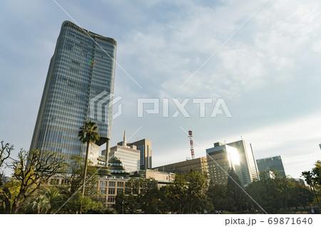 東京都千代田区日比谷から見た東京の都市景観 69871640