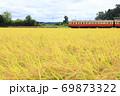 小湊鐵道「黄金色の稲とローカル線」 69873322