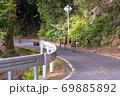 春の緑の回廊でくつろぐヤクシカとヤクザル(4月)世界自然遺産屋久島 69885892