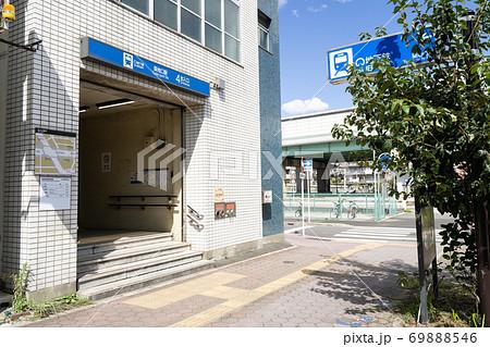 名古屋市港区 名古屋市営地下鉄 築地口駅 4番出入り口 69888546