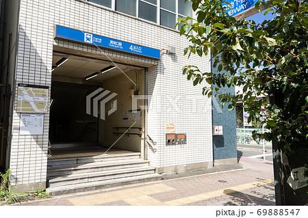 名古屋市港区 名古屋市営地下鉄 築地口駅 4番出入り口 69888547