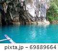 フィリピン プエルト・プリンセサ地下川国立公園 ジオラマ風 69889664