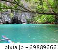 フィリピン プエルト・プリンセサ地下川国立公園 ジオラマ風 69889666