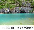 フィリピン プエルト・プリンセサ地下川国立公園 ジオラマ風 69889667