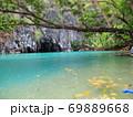 フィリピン プエルト・プリンセサ地下川国立公園 ジオラマ風 69889668
