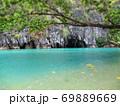 フィリピン プエルト・プリンセサ地下川国立公園 ジオラマ風 69889669
