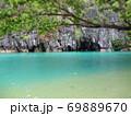フィリピン プエルト・プリンセサ地下川国立公園 ジオラマ風 69889670