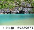 フィリピン プエルト・プリンセサ地下川国立公園 ジオラマ風 69889674