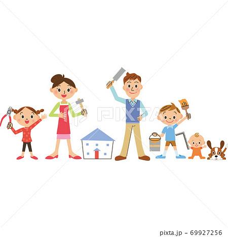 家族で家のリフォーム 69927256