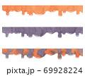 【水彩素材】液体〈ハロウィンカラー〉 69928224