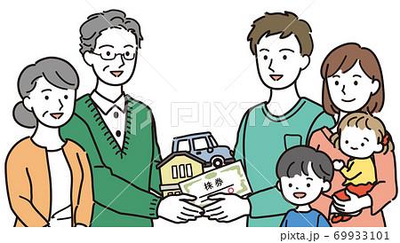 子世帯への相続 69933101