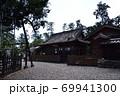 天宮神社、本殿、拝殿周りの趣のある塀 69941300
