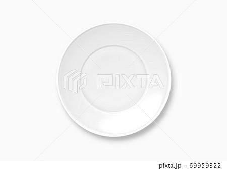 お皿の背景用イラスト  69959322