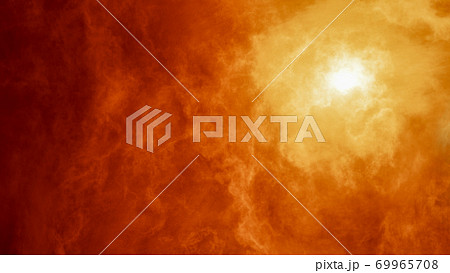 Abstract image of nebula, cosmic smoke and volumetric light 69965708
