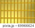 金の延べ棒 ゴールドバー CGイメージ 69966624
