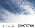 信州の秋の空うろこ雲 69975709