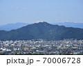 一宮市 ツインアーチ138からの眺望(岐阜城) 70006728