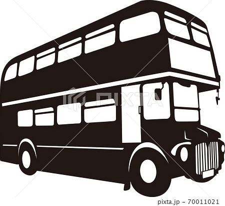 観光2階バス ベクター 70011021