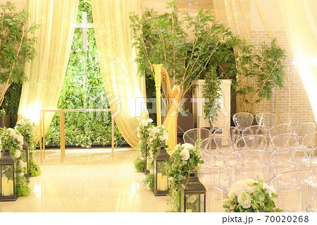 結婚式場 チャペル 70020268