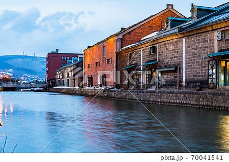 【北海道】小樽運河 70041541