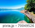 夏の十和田湖4 70049526