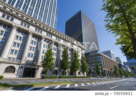 【東京丸の内】都市景観丸の内のビル街 70050831