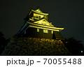 浜松城 警戒 ライトアップ 70055488