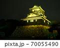 浜松城 警戒 ライトアップ 70055490